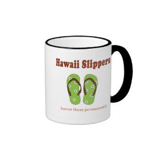 Travel Slippers Ringer Coffee Mug