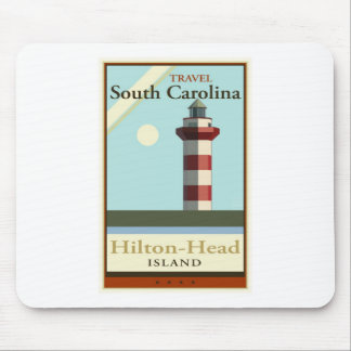 Travel South Carolina Mouse Pad