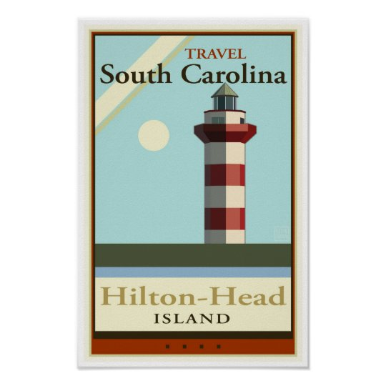 Travel South Carolina Poster