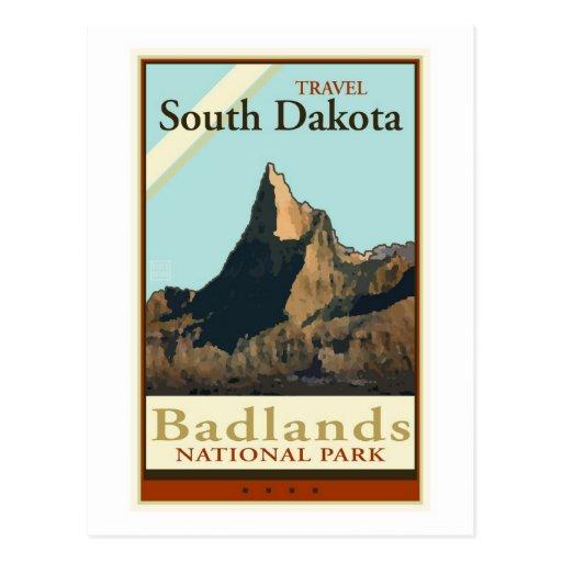 Travel South Dakota Post Card