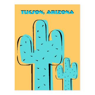 Travel Souvenir Postcards Saguaro Cactus Tucson AZ
