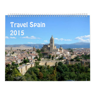 Travel Spain 2015 Calendar