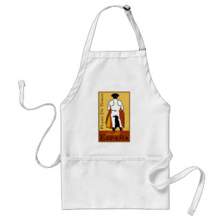 Travel Spain Adult Apron
