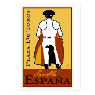 Travel Spain Postcard