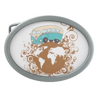 Travel spirit belt buckle