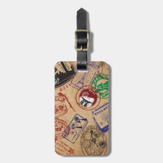 Travel Stamps Etiquetas Bolsas