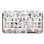 Travel Stamps Pattern Phone Case iPod Touch Case-Mate Case