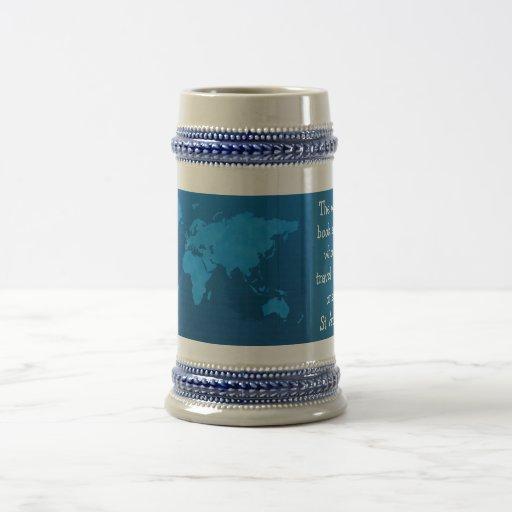 travel stein coffee mug