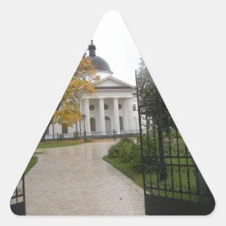 Travel Triangle Sticker
