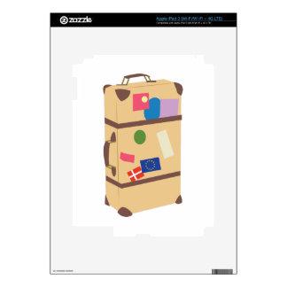 Travel Suitcase iPad 3 Skin