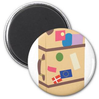 Travel Suitcase Magnet