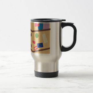 Travel Suitcase Travel Mug