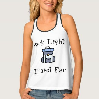 Travel Tank Top - Minimalist