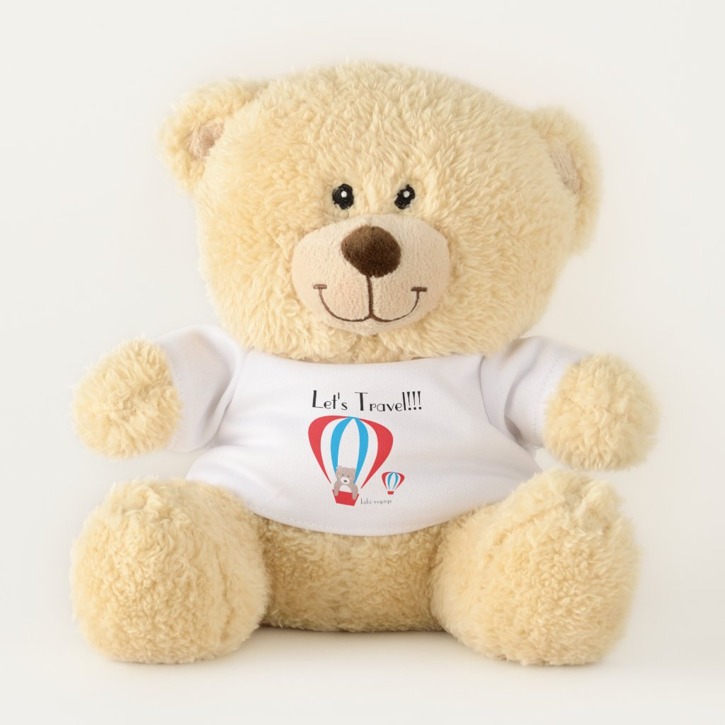 Travel Teddy Teddy Bear