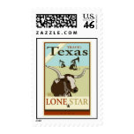 Travel Texas Postage Stamps