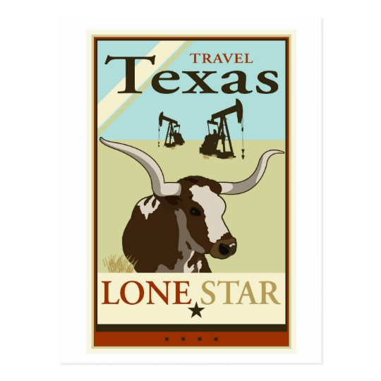Travel Texas Postcard