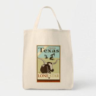 Travel Texas Tote Bag