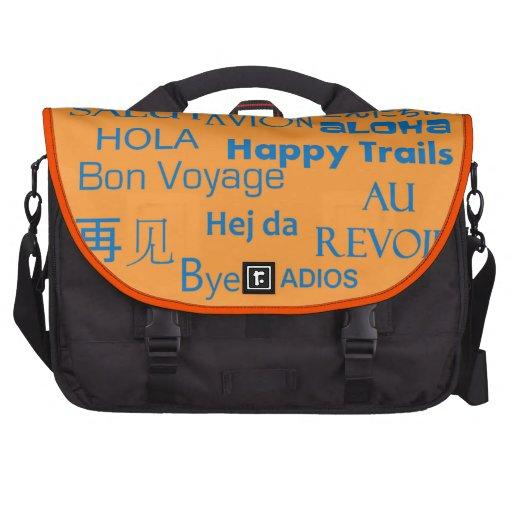 Travel Texts Laptop Computer Bag