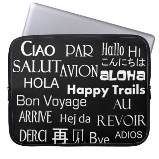 Travel Texts Laptop Sleeve