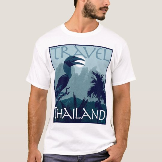 Travel Thailand- hornbill design T-Shirt