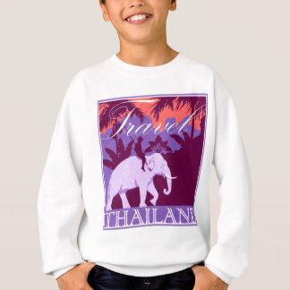 Travel Thailand white elephant Sweatshirt