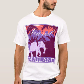 Travel Thailand - white elephant T-Shirt