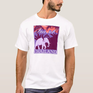 Travel Thailand white elephant T-Shirt