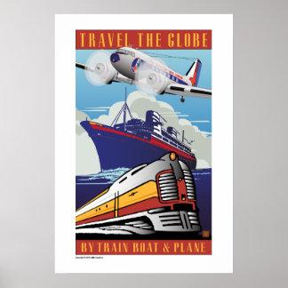 Travel the Globe-Poster
