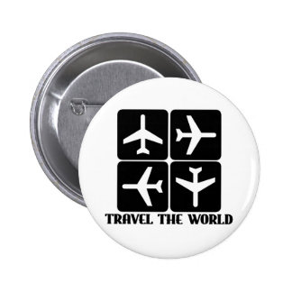 Travel the World Pin