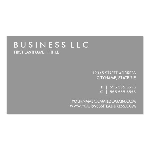 travel the world. (color customizable) business card (back side)