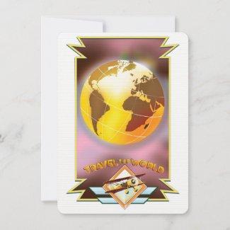 Travel the World Golden Globe