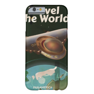 Travel the World Science fiction vintage poster Barely There iPhone 6 Case