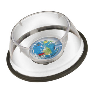 Travel the World Pet Bowl