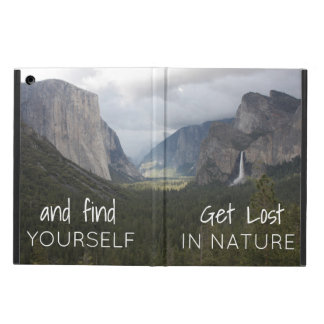 Travel Themed Tablet Cover with Quote