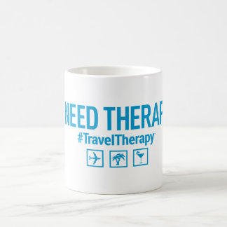 Travel Therapy Coffee Mug