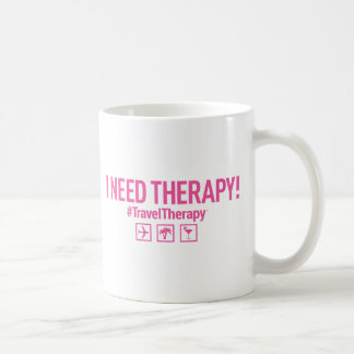 Travel Therapy Coffee Mug