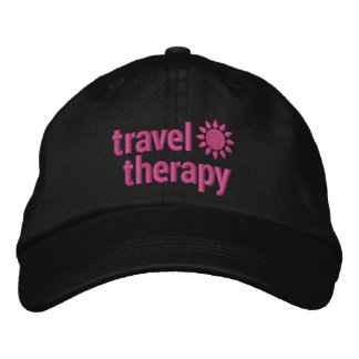 Travel Therapy Hat Embroidered Embroidered Hats