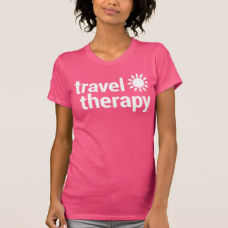 Travel Therapy T-shirt