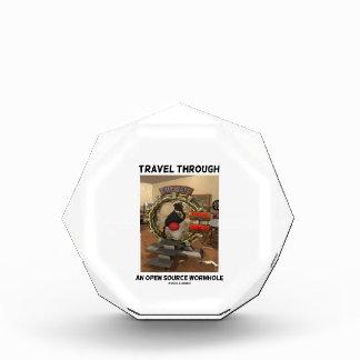 Travel Through An Open Source Wormhole (Duke) Acrylic Award