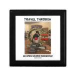Travel Through An Open Source Wormhole (Duke) Gift Box