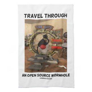 Travel Through An Open Source Wormhole (Duke) Towel