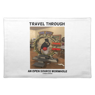 Travel Through An Open Source Wormhole (Duke) Placemats