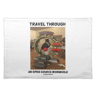 Travel Through An Open Source Wormhole (Duke) Placemat