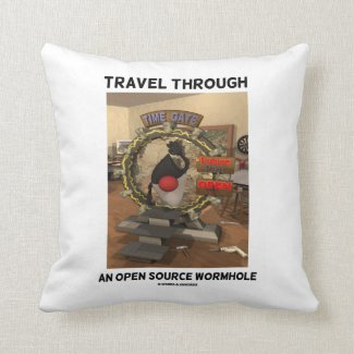 Travel Through An Open Source Wormhole Time Travel Pillows