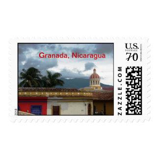 Travel through Nicaragua Postage