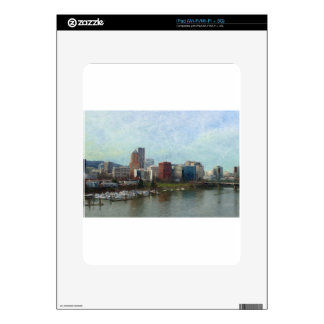 Travel through Portland Decal For iPad