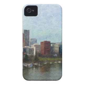 Travel through Portland iPhone 4 Case-Mate Case