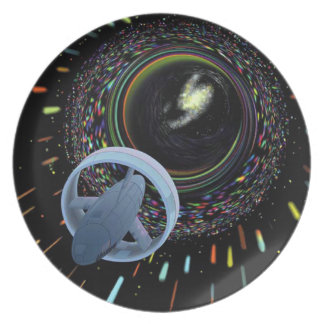 Travel Through The Wormhole Plate