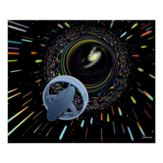 Travel Through The Wormhole Poster