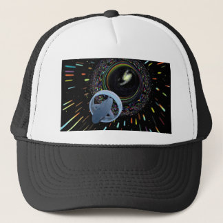 Travel Through The Wormhole Trucker Hat